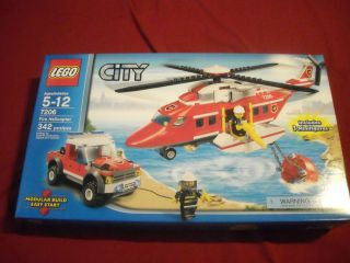 Lego Fire Helicopter City 7206