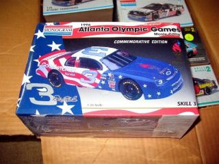 DALE EARNHARDT SR 1996 ATLANTA OLYMPIC MODEL KIT VINTAGE SEALED LQQK 3