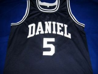 Pete Maravich Daniel High School Jersey Blue All Size