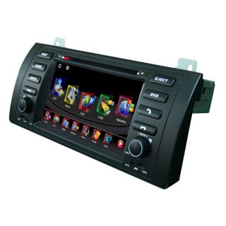 LCD Monitor In Dash Car GPS Sat Navigation Sytem FM Stereo DVD