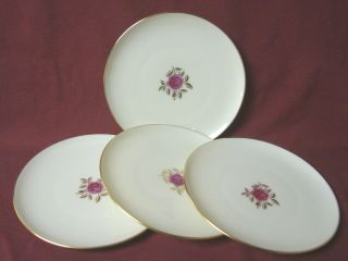 Lenox China Dinnerware Pattern X304 Roselyn Set 4 Bread Plate S