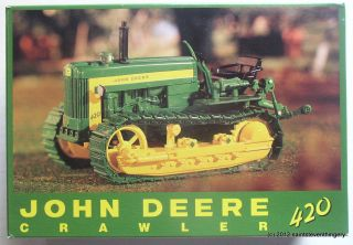 Ertl 1 16 John Deere 420 Crawler 18th Annual 1998 Plow City Show