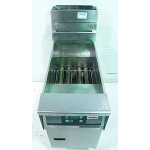 USED PITCO TB SG14 STAINLESS 40 GAL. NAT. GAS DEEP FOOD FRYER