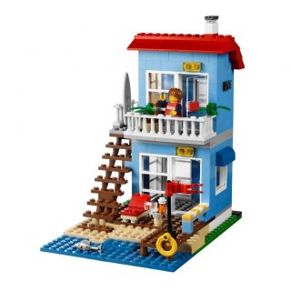 Lego CREATOR 7346 SEASIDE HOUSE Set OUT OF STOCK At LEGO NEW FACTORY