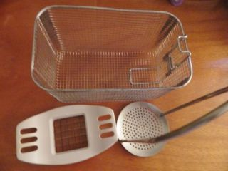 Bravetti Platinum Pro Deep Fryer Accessories Basket Strainer Potato