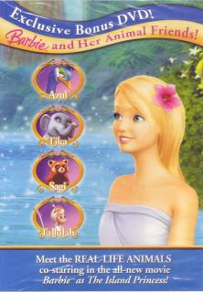 Animal Friends New SEALED DVD Documentary About Island Princess