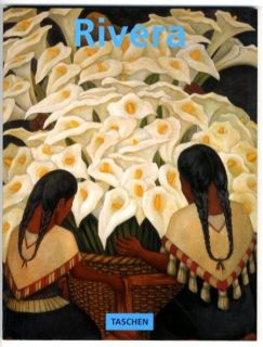 1997 Diego Rivera Mexican Modern Art Murals Paintings Color
