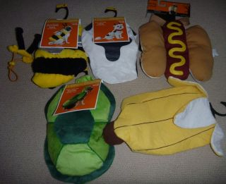 Dog Costume Bumble Bee Size Small 5 15 lbs Turtle Cow Banana Hot Dog