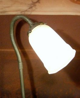 Antque Vintage Flexible Adjustable Table Desk Lamp Art Deco