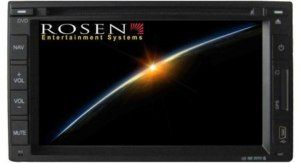 Rosen DVD Navigation Double DIN 7 Touchscreen Radio SD