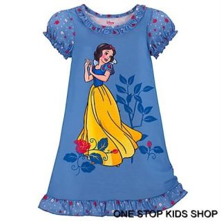 Snow White Girls 2T 3T 4T 5T 4 5 6 7 8 10 Pajamas Nightgown PJs Disney