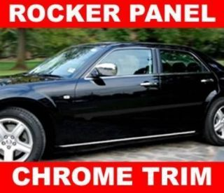 dodge Charger Avenger Magnum Chrome ROCKER PANEL TRIM MOLDING