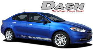 Dash 2013 Dodge Dart Lower Rocker Panel Side Stripes Decals Graphics