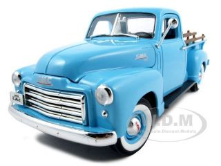 1950 GMC Pick Up Truck Blue 1 18 Diecast Model Car