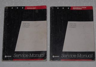 1985 Dodge Caravan Plymouth Voyager RAM Mini Van Service Manual