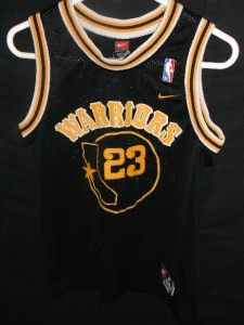 Nike J Rich Richardson Golden State Warriors NBA Jersey Youth M