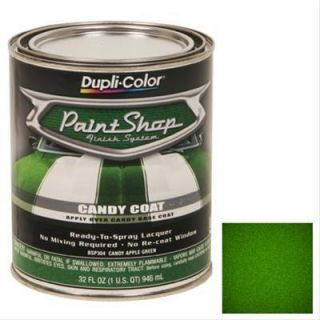 Dupli Color Paint Lacquer Translucent Candy Apple Green 1 Quart Ea