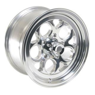 Summit Racing Polished Drag Thrust Wheel 15x8 5x4 75 Set of 2
