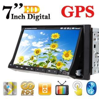 Car GPS Navigation DVD Player Indash Car Audio System
