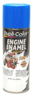 Dupli Color Ford Blue Engine Spray Paint with Ceramic