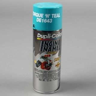 Dupli Color Paint Engine Enamel with Ceramic Resin Gloss Torque n Teal