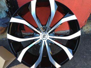 26 Lexani Lust Wheels w Tire 2012 Dub asanti MOZ Giovanna Forgiato