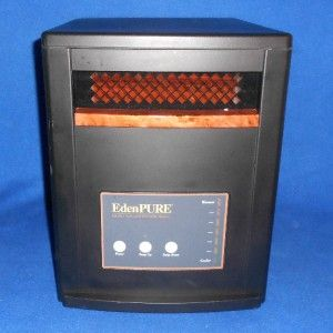 Edenpure Quarts Infrared Heater Portable Nice Model 1000XL