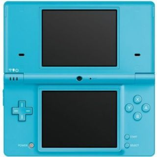 Nintendo DSi Light Blue Handheld System with Mario Games
