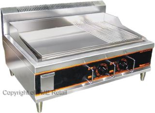 New x Large Electric Griddle Hotplate Grill 69cm