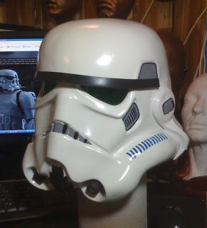 Star Wars ANH Stormtrooper Hero Helmet Kit Bright White