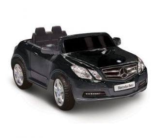 NEW Ride On Toy Truck Vehicle Black Mercedes Benz E550 Kids Electric