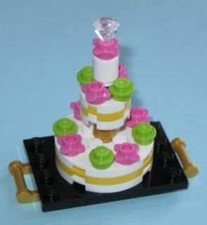 Lego Custom Food Bakery Shop Wedding Chocolate Cake Topper Birthday