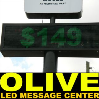 LED Sign Programmable Scrolling Message Display 40x107