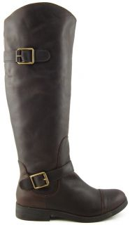 Lucky Brand Fanni Tuscany Womens Designer Shoes Knee High Riding Boots