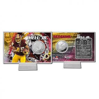 2012 NFL Silver Plated Coin Card by The Highland Mint   Roy Helu Jr