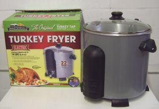 Masterbuilt Electric Indoor Turkey Fryer Large Capacity Deep Fryer 22