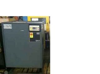 hp ATLAS COPCO GA5 ROTARY AIR COMPRESSOR COMPUTER CONTROLLED