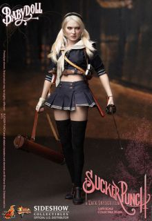 Hot Toys Babydoll Baby Doll EMILY BROWNING LUCY SUCKER PUNCH 12 Action