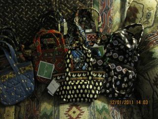 Vera Bradley Retired Bitty Bags NWT Pick One Love Vintage Style