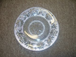 DEPRESSION ERA INDIANA GLASS COMPANY SANDWICH PATTERN SMALL PLATE