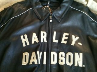 men Harley Davidson leather jacket in Clothing,
