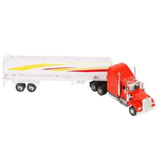 Fast Lane 1 32 Scale Die Cast W900 Long Haulers Truck Red
