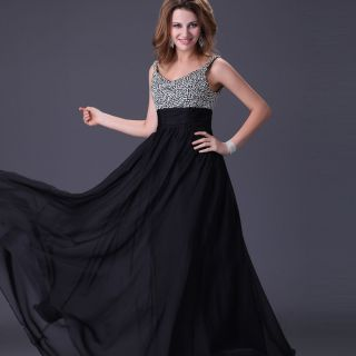 Elegant Evening Dress Sweetheart Long Formal Prom Gown US Sz 2 4 6 8