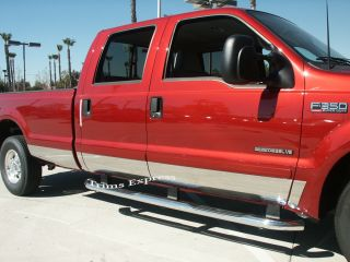 99 10 Ford F 250 Rocker Panel Super Cab Long Bed Box