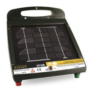Zareba SP10B Solar Powered Fence Controller Charger Fencer 10 Mile