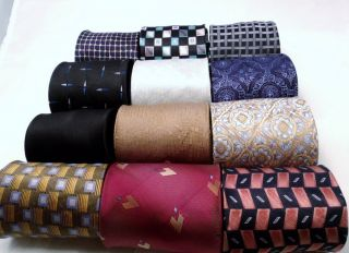 12 New Mens Extra Long Ties Lot 62 63 Robert Talbott Sean John Jones