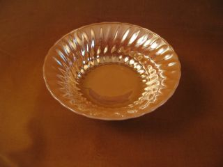 Anchor Hocking Orange Fire King Carnival Glass Bowl 8 1 2 in