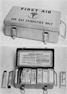 US ARMY WWII FIRST AID KIT MEDICAL DEPT. STOCK NO. 9776400 COLLECTOR