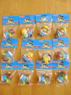 New Lot Fisher Price Chunky Little People Figures Baby Birthday Party