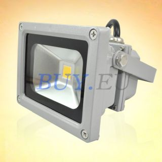 10W Warm White High Power LED Wash Flood Light Garden Lamp Outdoor